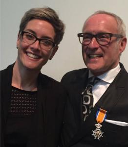 Richard Koffijberg onderscheiden - initiatiefnemer Business Factory